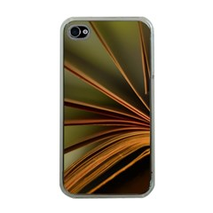 Book Screen Climate Mood Range Apple Iphone 4 Case (clear)