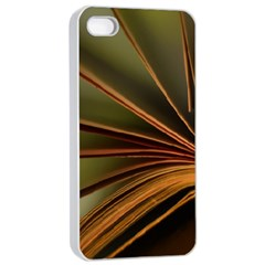 Book Screen Climate Mood Range Apple Iphone 4/4s Seamless Case (white)