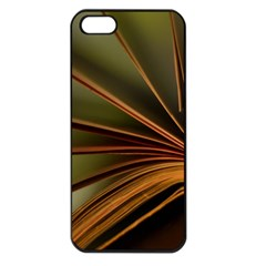 Book Screen Climate Mood Range Apple Iphone 5 Seamless Case (black)