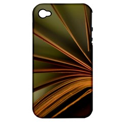 Book Screen Climate Mood Range Apple Iphone 4/4s Hardshell Case (pc+silicone)