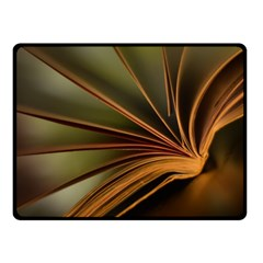 Book Screen Climate Mood Range Double Sided Fleece Blanket (small)