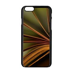 Book Screen Climate Mood Range Apple Iphone 6/6s Black Enamel Case