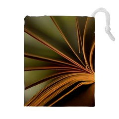 Book Screen Climate Mood Range Drawstring Pouches (extra Large)