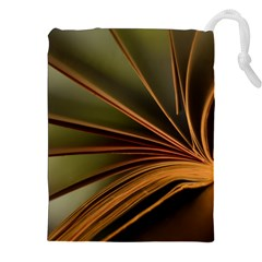 Book Screen Climate Mood Range Drawstring Pouches (XXL)