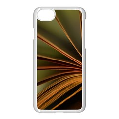 Book Screen Climate Mood Range Apple Iphone 7 Seamless Case (white)