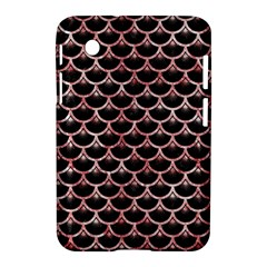 Scales3 Black Marble & Red & White Marble Samsung Galaxy Tab 2 (7 ) P3100 Hardshell Case