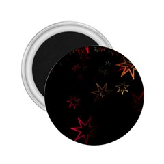 Christmas Background Motif Star 2.25  Magnets