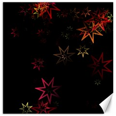 Christmas Background Motif Star Canvas 12  X 12