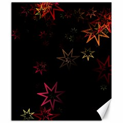 Christmas Background Motif Star Canvas 20  X 24