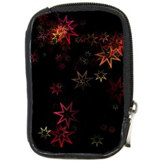 Christmas Background Motif Star Compact Camera Cases