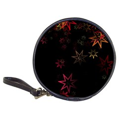 Christmas Background Motif Star Classic 20 Cd Wallets