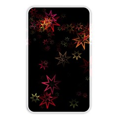Christmas Background Motif Star Memory Card Reader