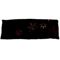 Christmas Background Motif Star Body Pillow Case Dakimakura (two Sides)