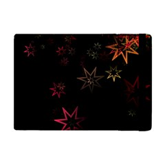 Christmas Background Motif Star Apple Ipad Mini Flip Case