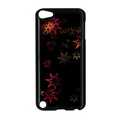 Christmas Background Motif Star Apple Ipod Touch 5 Case (black)