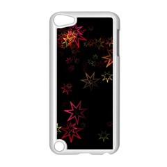 Christmas Background Motif Star Apple Ipod Touch 5 Case (white)