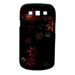 Christmas Background Motif Star Samsung Galaxy S Iii Classic Hardshell Case (pc+silicone)