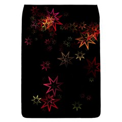 Christmas Background Motif Star Flap Covers (l)