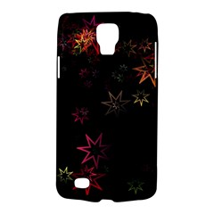 Christmas Background Motif Star Galaxy S4 Active