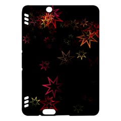 Christmas Background Motif Star Kindle Fire Hdx Hardshell Case