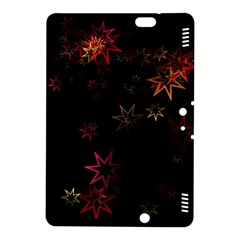 Christmas Background Motif Star Kindle Fire Hdx 8 9  Hardshell Case