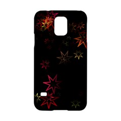 Christmas Background Motif Star Samsung Galaxy S5 Hardshell Case