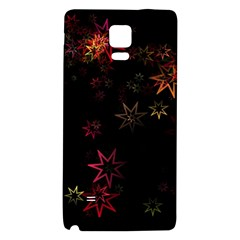 Christmas Background Motif Star Galaxy Note 4 Back Case