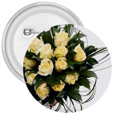 Bouquet Flowers Roses Decoration 3  Buttons