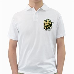 Bouquet Flowers Roses Decoration Golf Shirts