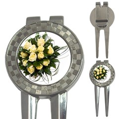 Bouquet Flowers Roses Decoration 3 In 1 Golf Divots