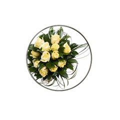 Bouquet Flowers Roses Decoration Hat Clip Ball Marker (10 Pack)