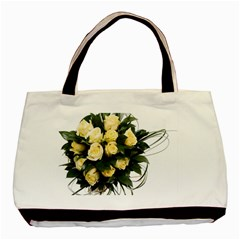 Bouquet Flowers Roses Decoration Basic Tote Bag