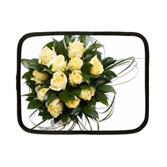 Bouquet Flowers Roses Decoration Netbook Case (small)