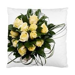 Bouquet Flowers Roses Decoration Standard Cushion Case (one Side)
