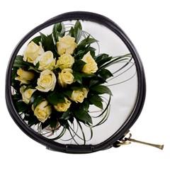 Bouquet Flowers Roses Decoration Mini Makeup Bags