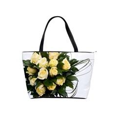 Bouquet Flowers Roses Decoration Shoulder Handbags