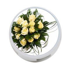 Bouquet Flowers Roses Decoration 4 Port Usb Hub (two Sides)