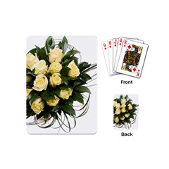Bouquet Flowers Roses Decoration Playing Cards (mini)