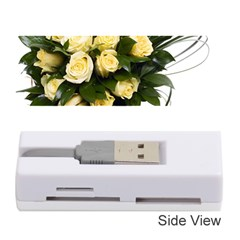 Bouquet Flowers Roses Decoration Memory Card Reader (stick)