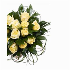 Bouquet Flowers Roses Decoration Small Garden Flag (two Sides)