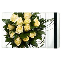 Bouquet Flowers Roses Decoration Apple Ipad 2 Flip Case
