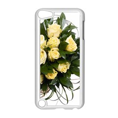 Bouquet Flowers Roses Decoration Apple Ipod Touch 5 Case (white)