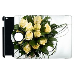 Bouquet Flowers Roses Decoration Apple Ipad 2 Flip 360 Case