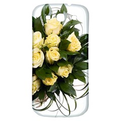 Bouquet Flowers Roses Decoration Samsung Galaxy S3 S Iii Classic Hardshell Back Case