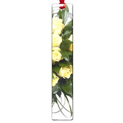 Bouquet Flowers Roses Decoration Large Book Marks
