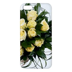 Bouquet Flowers Roses Decoration Apple Iphone 5 Premium Hardshell Case