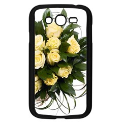 Bouquet Flowers Roses Decoration Samsung Galaxy Grand Duos I9082 Case (black)