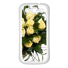 Bouquet Flowers Roses Decoration Samsung Galaxy S3 Back Case (white)