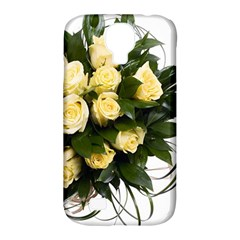 Bouquet Flowers Roses Decoration Samsung Galaxy S4 Classic Hardshell Case (pc+silicone)