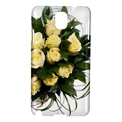 Bouquet Flowers Roses Decoration Samsung Galaxy Note 3 N9005 Hardshell Case
